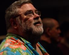 Christopher Soden at the Margot Jones Theater, Dallas, Texas.